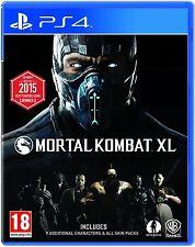 Mortal Kombat XL (Playstation 4) NEW & Sealed