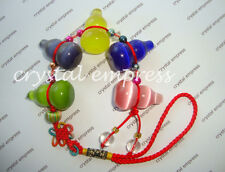 FENG SHUI - 5 CAT'S EYE WU LOU TASSEL (GOOD HEALTH & LONG LIFE)