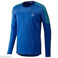 Adidas RESPONSE LS LONG SLEEVE TEE Running Gym Tennis Shirt Top adizero~Men sz L