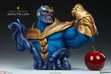 Sideshow Marvel Mad Titan Infinity Gauntlet Thanos Bust Statue MISB In Stock