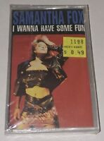 I Wanna Have Some Fun by Samantha Fox Cassette1988 Jive USA