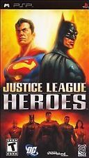Justice League Heroes (Sony PSP, 2006) Game only