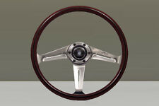Nardi Classic Wood Steering Wheel - 367mm - Polished Side Spokes-Screws at Sight