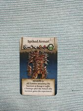 Zombicide Black Plague / Green Horde - Spiked Armor vault card