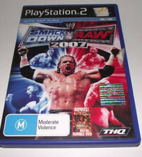 Smack Down Vs Raw 2007 PS2 PAL *Complete* Free Post