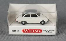 WIKING 012101/0121 01 H0 1:87 DKW Junior de Luxe - perlweiß mit grauem Dach NEU!
