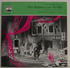 Rossini the Barber of Sevilla Köth Holm Prey Frick Wilhelm Schüchter Lp (g975)