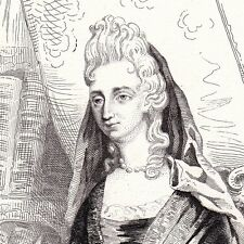 Portrait XIXe Anne Dacier Le Fèvre Grandchamp Philologie 1846