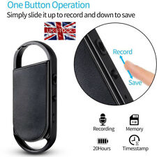 8 Go Spy Bug Micro Digital Voice Sound Recorder Portable Keychain Spy Enregistrement