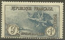 "FRANCE STAMP TIMBRE N°232 "" ORPHELINS LA MARSEILLAISE 5F+1F "" NEUF xx TTB B429"