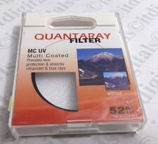 52mm Quantaray Multi-Coated UV Protection Glass Lens Filter Safety Japan 52 mm