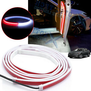 Car Door Opening Flashing LED Light Anti-collision Warning Alert For Kia optima