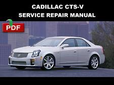 CADILLAC CTSV CTS-V 2004 2005 FACTORY SERVICE REPAIR WORKSHOP MANUAL