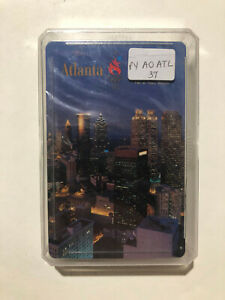 1996 Atlanta Olympics playing cards/ deck, Sealed, cased & holographic sticker
