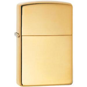 Zippo Armor High Polished Brass Pocket Lighter