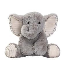 Lambs & Ivy Jungle Safari Gray Plush Elephant Stuffed Animal Toy - Jett