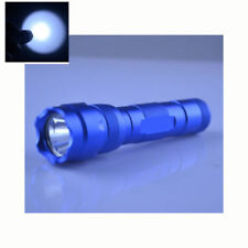 Blue UtraFire WF502B CREE XM-L2 U3 LED 1200lm 1 Mode Flashlight 18650 With Clip