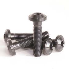 M8 x 35mm Bolt Titanium Black M8 x 35x 1.25mm 40mm Screw Low Profile Flange Head