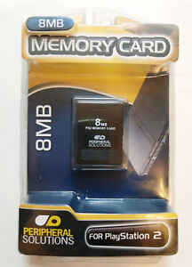 PS2 8GB Memory Card Peripheral Solutions