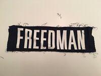 T) Virginia UVA Cavaliers Football Game Worn Jersey Paul Freedman Nameplate
