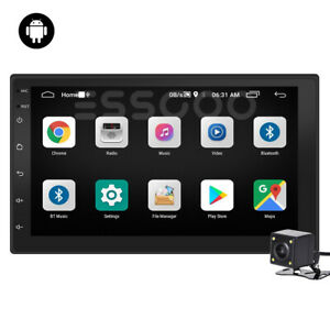 AUTORADIO QUAD CORE ANDROID 10.1 WIFI BLUETOOTH 7'' 2 DIN STEREO + Retrocamera