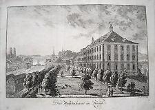 Zürich  das Waisenhaus Schweiz seltener echter alter  Kupferstich 1820 Nr. 2