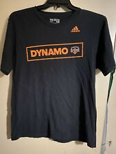 Houston Dynamo Adidas Go To Tee Men's Size L Black
