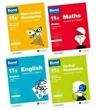 More details for bond 11+ 8-9yrs assessment papers: maths/english/verbal/non verbal: 4 book set