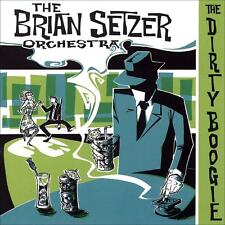 THE BRIAN SETZER ORCHESTRA - THE DIRTY BOOGIE - CD - NEUF NEW NEU