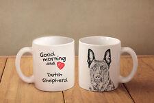Hollandse Herdershond - Keramik Becher Subli Dog DE