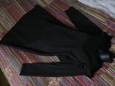 NEU Ulla Popken Kleid 46/48 Punto di Roma Jersey Viskose Stretch Schwarz 79,99€