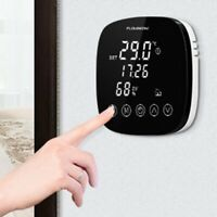 FLOUREON Digital Programmable Thermostat Touch Screen Humidity 7 Day Accurate
