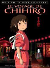 LE VOYAGE DE CHIHIRO Affiche Cinéma pliée 160x120 Movie Poster MIYAZAKI