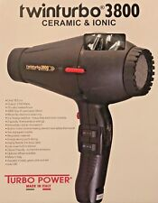 Pibbs Ttec8012 Twin Turbo 3800 Professional Ionic and Ceramic Hair Dryer Black 2100 Watt