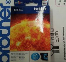BROTHER LC-980 CIANO ORIGINALE PER MFC-250C DCP-145C MFC-255CW