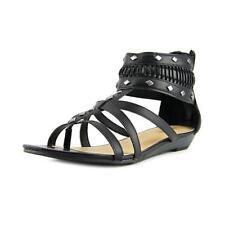 Sandalias y chanclas de mujer Nine West color principal negro sintético