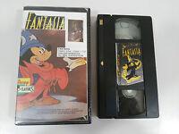 CINTA VIDEO VHS GRABADA COLECCIONISTA RETRO AÑOS 80 - FANTASIA WALT DISNEY