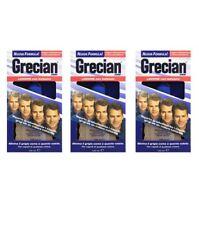 3pz GRECIAN 2000 Lozione per Capelli Grigi con balsamo 125ml elimina il grigio