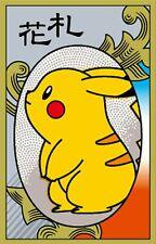Pokemon Hanafuda Playing card Pikachu JAPAN OFFICIAL (Case damage)