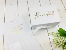 Large Bridesmaid Proposal Box • Will You Be My Bridesmaid • Personalised Bridesm