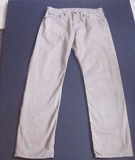 Mens Levi Strauss Levt's 505 Straight Leg tan pants 32 32 actual 32 31  J194