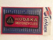 Vintage Patch NOS Hodaka Motorcycles Biker 70s Rat Hot Rod