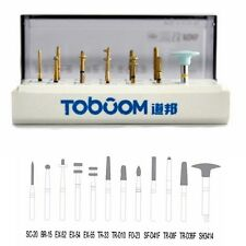 Dental burs preparation kit anterior posterior ceramics zirconia crown 12PCS/KIT