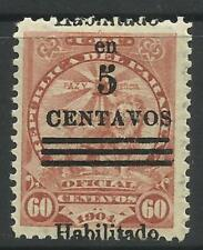 Lightly Hinged Central & South American Stamps