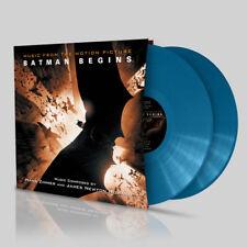 Batman Begins OST Bhoutan bleu 2LP vinyl album Hans Zimmer James Howard Scellé