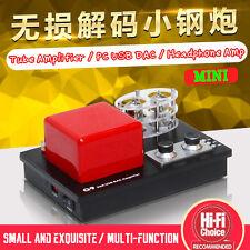 Mini Stereo Vacuum Tube Amplifier / HiFi Headphone Amp / Lossless PC USB DAC New