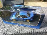 AUTOart Subaru Impreza 22B Blue Rare RHD - 1:18 Die Cast Model Car