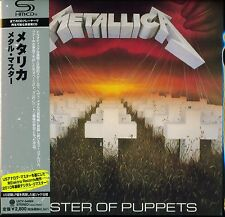 METALLICA MASTER OF PUPPETS 2011 JPN SHM MLPS CD - BRAND NEW - ACTUAL ITEM SHOWN