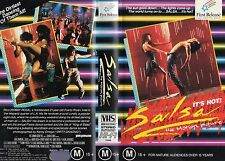 SALSA THE MOTION PICTURE - VHS - PAL - NEW - NEVER PLAYED - Original Oz release!