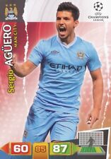 AGUERO ARGENTINA MANCHESTER CITY.FC CARD ADRENALYN CHAMPIONS LEAGUE 2012 PANINI